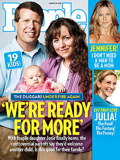 The Duggars: We're Open to Having a 20th Child