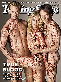 True Blood's Rolling Stone Cover: Fangtastic or Too Racy?