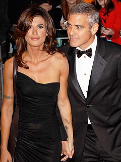 George Clooney and Elisabetta Canalis Are Not Engaged
