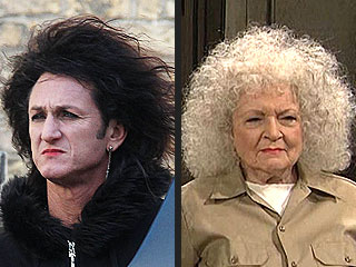 PHOTO: Sean Penn Channels Betty White?