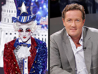 America's Got Talent: Prince Poppycock Calls Piers Morgan a 'Big Ninny'