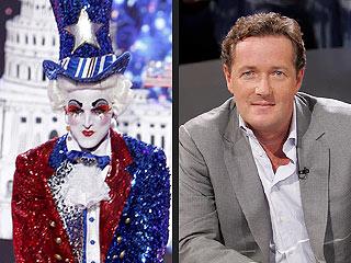America's Got Talent: Prince Poppycock Calls Piers Morgan a 'Big Ninny'