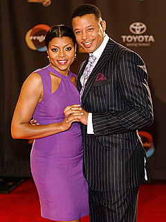 Taraji P. Henson and Terrence Howard Hop Soul Train