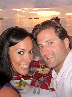 Jesse Csincsak & Ann Lueders Feel the Love on Jamaican Honeymoon