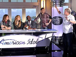 PHOTO: New Idol Judges Jennifer Lopez and Steven Tyler Get to Work