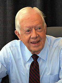 Upset Stomach Grounds Jimmy Carter – in Hospital