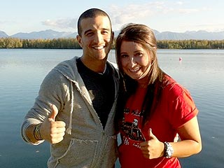 Dancing's Mark Ballas Visits Bristol Palin's Family in Alaska