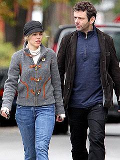 Rachel McAdams & Michael Sheen Step Out Hand-in-Hand