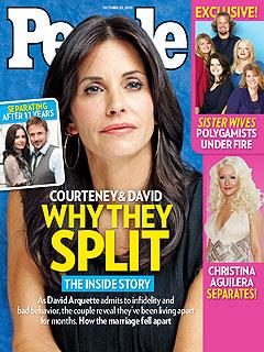 Inside Courteney Cox and David Arquette's Split