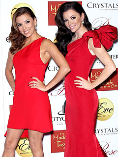 PHOTO: Eva Longoria Parker Unveils Her Madame Tussauds Wax Figure