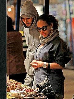 Alicia Keys, Swizz Beatz Go Shopping for Baby Egypt
