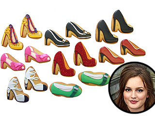 Gossip Girl Celebrates Blair's Birthday with Designer Shoe Cookies