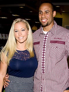Kendra Wilkinson Puts Husband on Diaper Duty to Dance