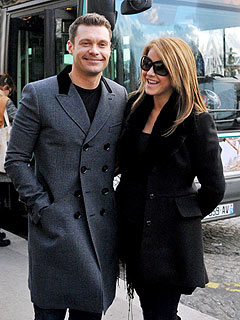 Julianne Hough & Ryan Seacrest Spend Romantic Holiday in Paris