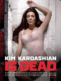 Kim Kardashian, Lady Gaga and More Staging Digital Deaths for a Cause