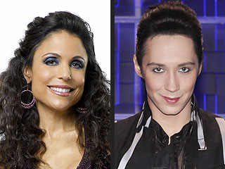 Skating with the Stars - Bethenny Frankel and Johnny Weir