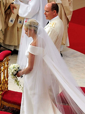Prince Albert, Princess Charlene: No Reluctant Bride