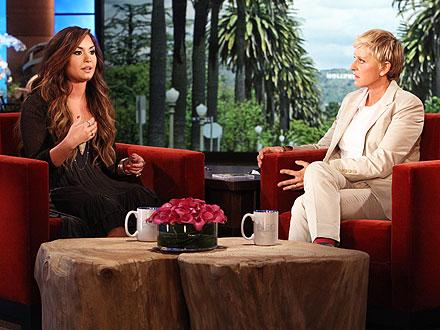 Demi Lovato Talks Treatment, Eating Disorders with Ellen DeGeneres