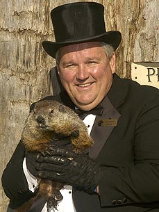 Punxsutawney Phil to Send Groundhog Day Text Alert