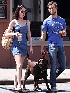 Anne Hathaway and Beau Hint at Adopting ... A Dog!