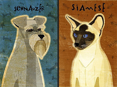 Etsy Fave! Pet Portraits Turn Your Mutt into a Mona Lisa