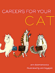 'Careers for Your Cat' Gets Kitty Off the Couch and Into the Office
