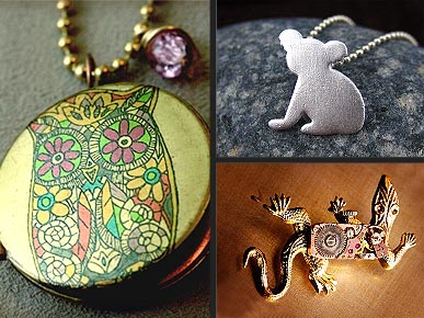 Etsy Fave! Charm Your Favorite Pet Lovers With Animal-Themed Jewelry