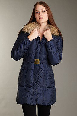 Fur Collar Down Coat