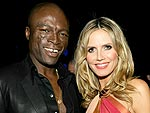 Heidi & Seal Go Shopping for Crystals | Heidi Klum, Seal