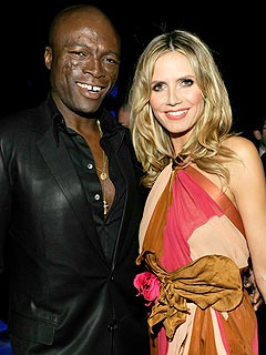 Heidi & Seal Steal PDA at Emmy Bash