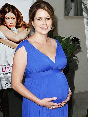 Jenna Fischer Tells Jay Leno: It'll Be a Boy