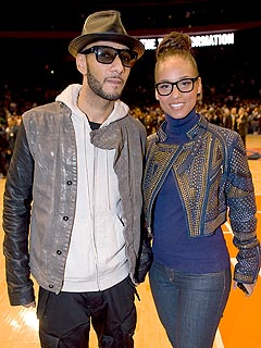 Alicia Keys on Husband Swizz Beatz