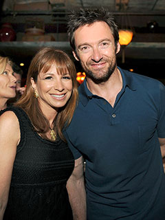 Celeb Sightings: Hugh Jackman, Jill Zarin, Courteney Cox, David Arquette