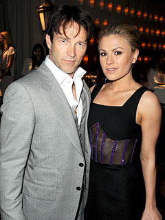 Anna Paquin & Stephen Moyer Experiment with Food