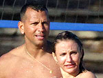 Cameron Diaz and Alex Rodriguez Get Fit in Miami | Alex Rodriguez, Cameron Diaz