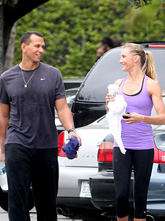 Cameron Diaz and Alex Rodriguez Get Fit in Miami