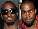 Diddy Hosts Kanye West for Dinner in New York | Kanye West, Sean P. Diddy Combs