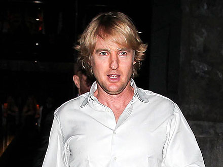 Owen Wilson's Relaxed Guys' Night Out