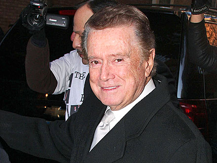 Regis Philbin Toasts His Final Show in N.Y.C.