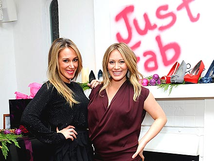Hilary & Haylie Duff Bond Over Babies