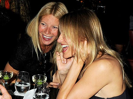 Hollywood Power Trifecta: Gwyneth, Reese and Cameron Eat Out in L.A.