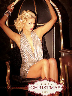 PHOTO: Paris Hilton's Sexy Christmas Card