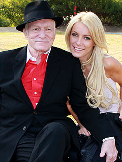 Hugh Hefner's Engagement Ring to Crystal Harris Revealed