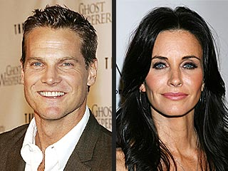 Courteney Cox & Cougar Town Costar Brian Van Holt Friends