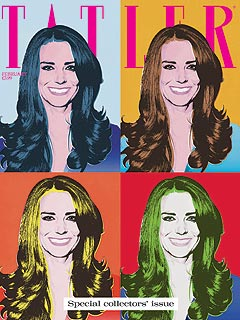 Kate Middleton, Andy Warhol Treatment