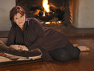 Carrie Fisher Jenny Craig's New Face