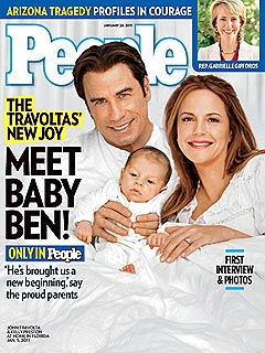 John Travolta: Baby Benjamin Looks Like Me