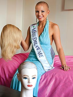 Miss America 2011 Contestant Kayla Martell Talks About Alopecia