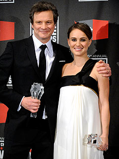 Critics' Choice Awards - Natalie Portman and Colin Firth Are Winners