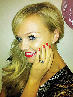 Jade Jones Proposes to Emma Bunton